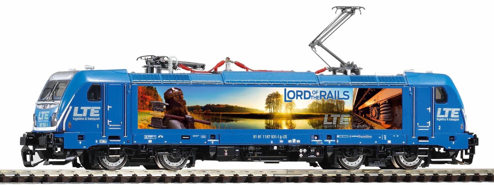 Piko Elektrická lokomotiva BR 147.5 Traxx AC3 s 4 pantografy LTE VI - 47455