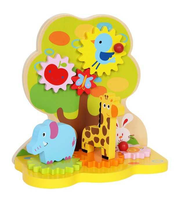 Dřevěná motorická hračka - Dřevěný ráj pohybu