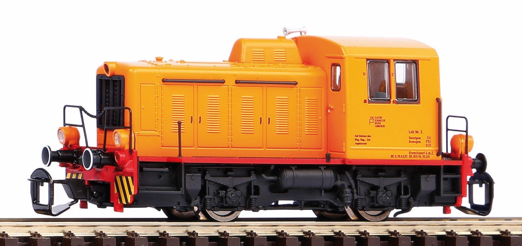 """Piko Dieselová lokomotiva vč. dig. dekodéru TGK2 """"Kaluga"""" Sonneberg DR IV - 47520"""