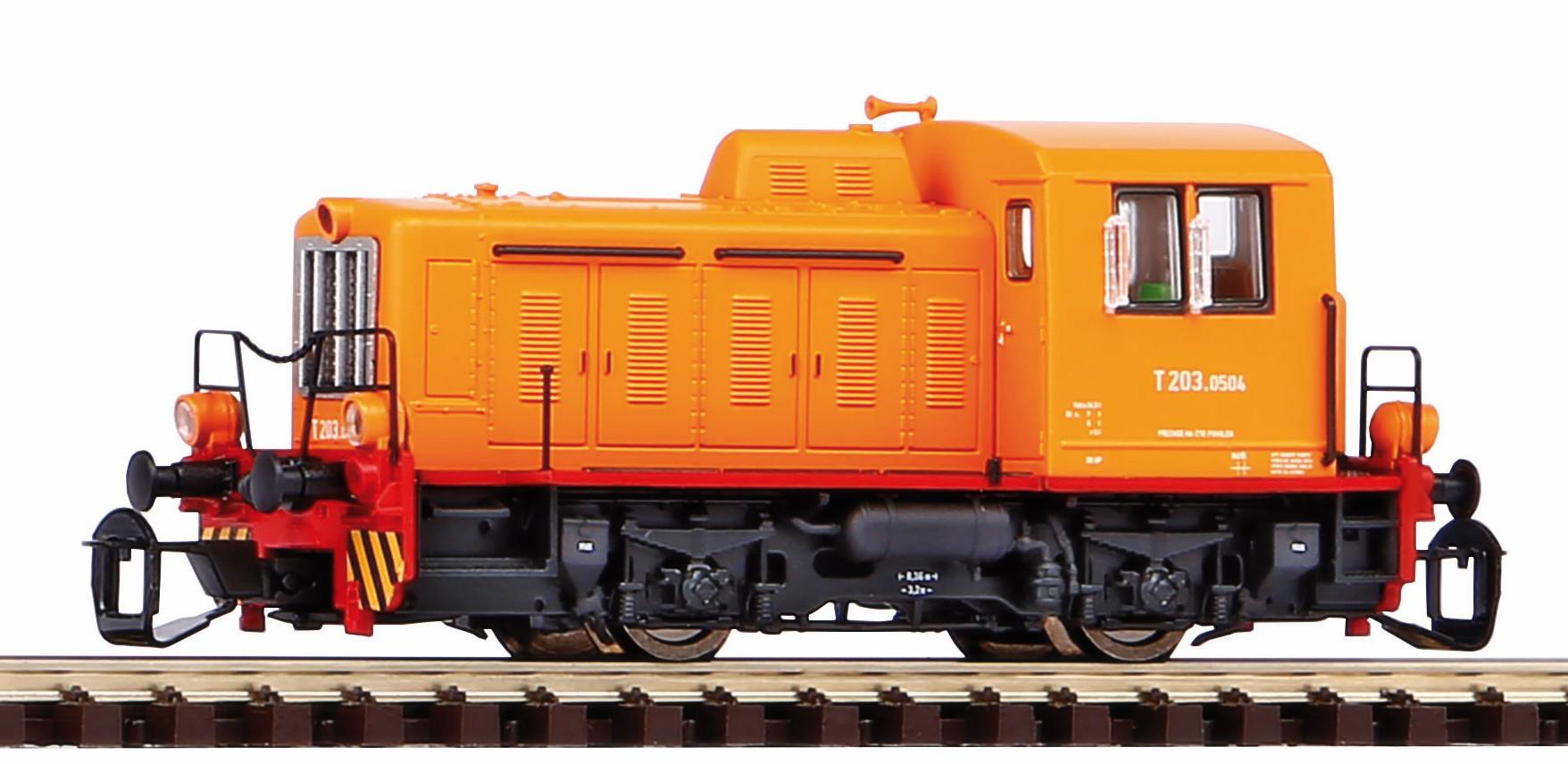 """Piko Dieselová lokomotiva TGK2 - T203 """"Kaluga"""" IV - 47522"""