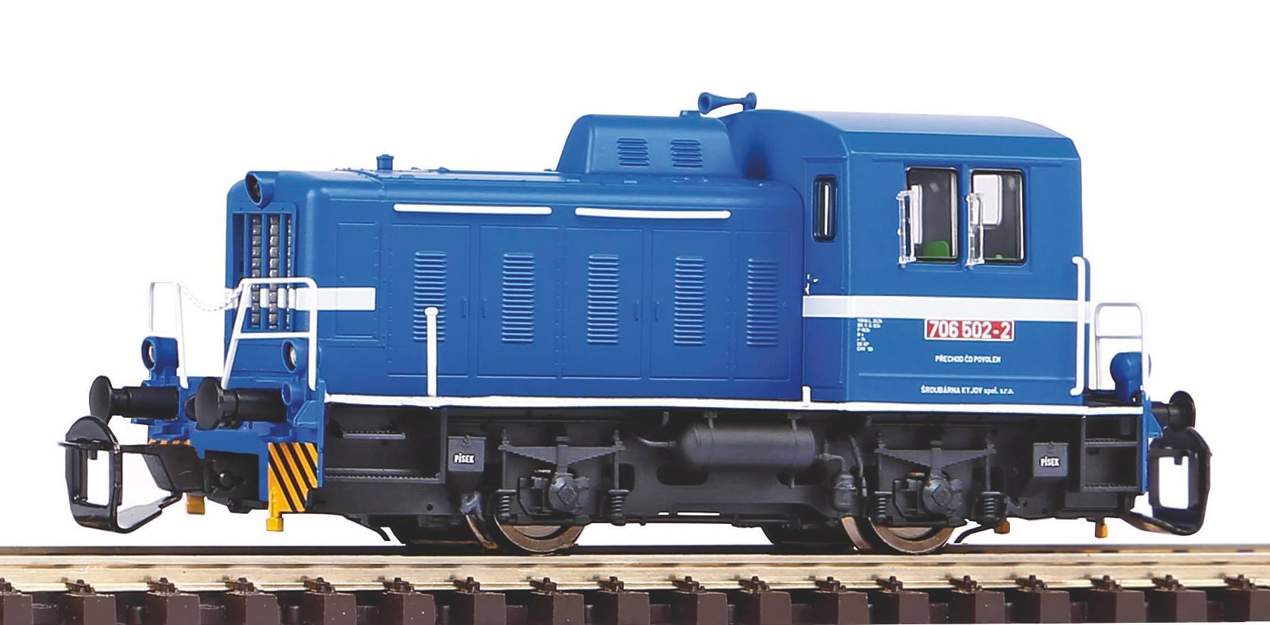 "Piko Dieselová lokomotiva TGK2 - T203 ""Kaluga"" CZ VI - 47523"