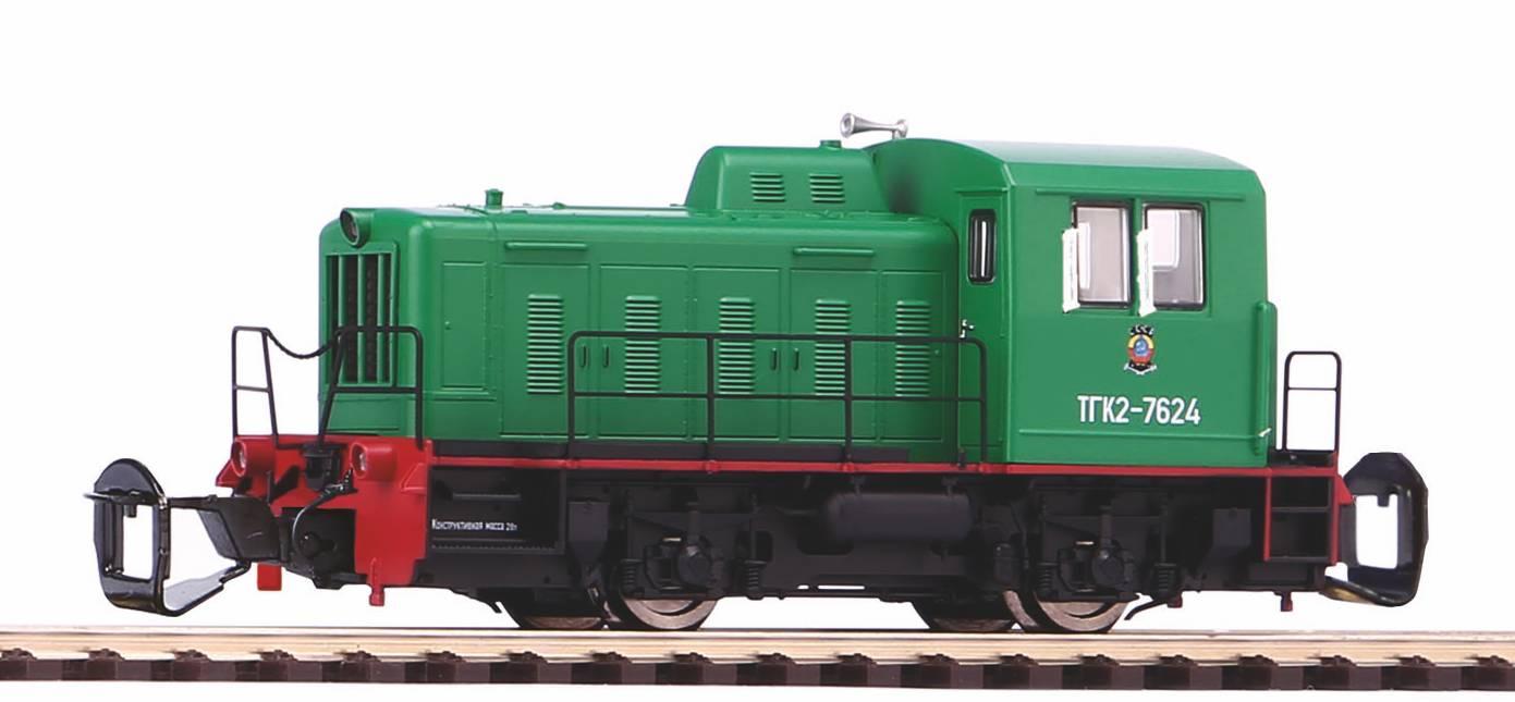 "Piko Dieselová lokomotiva TGK2-M ""Kaluga"" RZD IV - 47524"