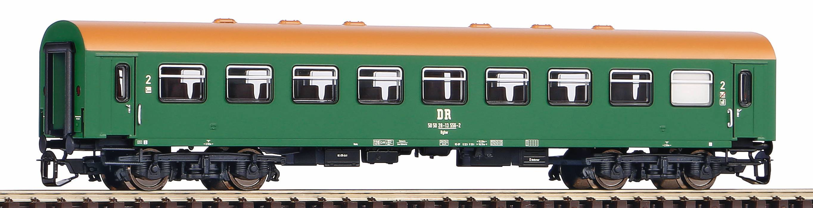 Piko Osobní vagón Reko 2. Cl. DR IV - 47607