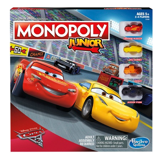 Piatnik Monopoly Cars 3