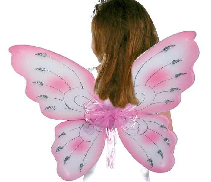 Small Foot Vílí křídla, růžová 2ks