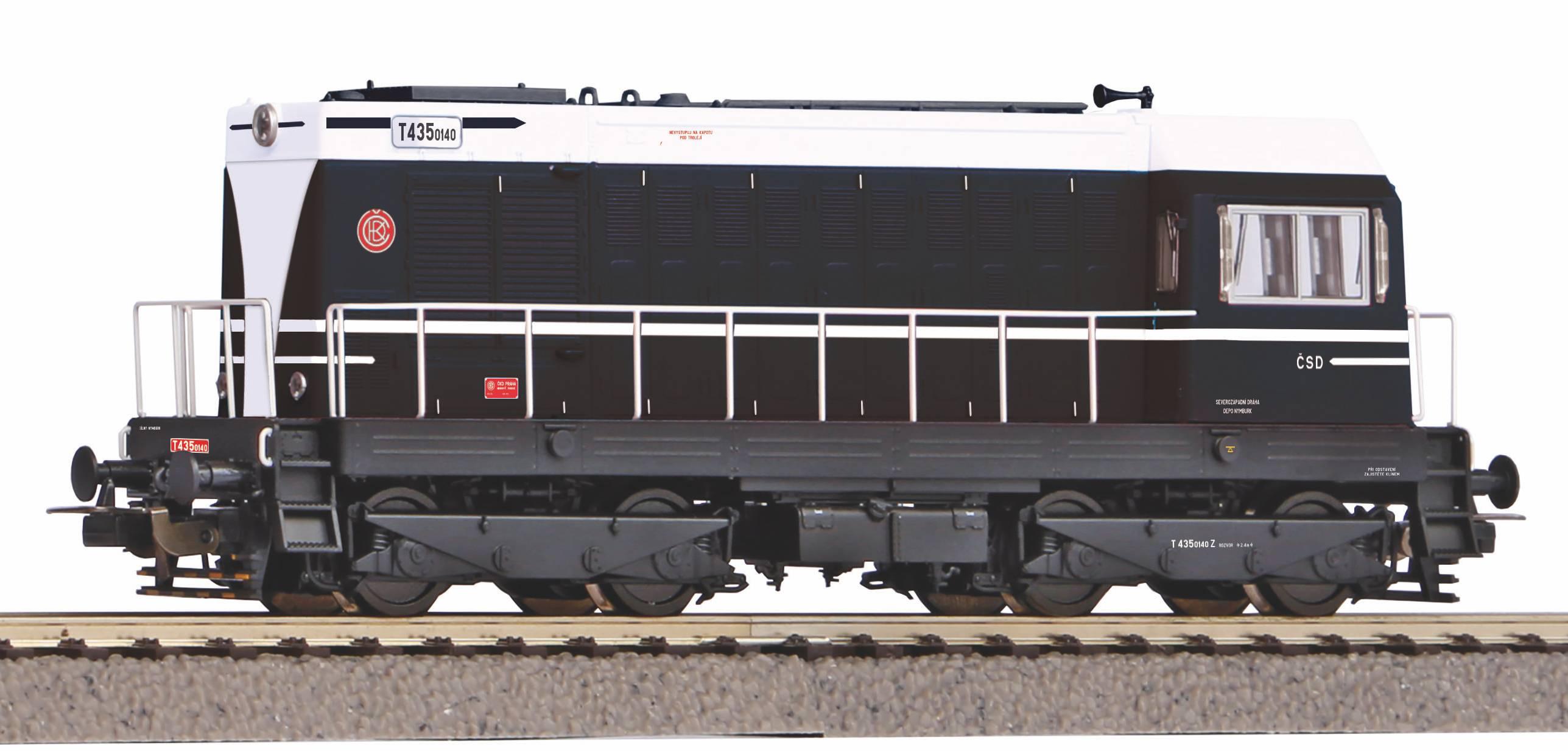 Piko Dieselová lokomotiva BR V T 720 ČD IV - 52427