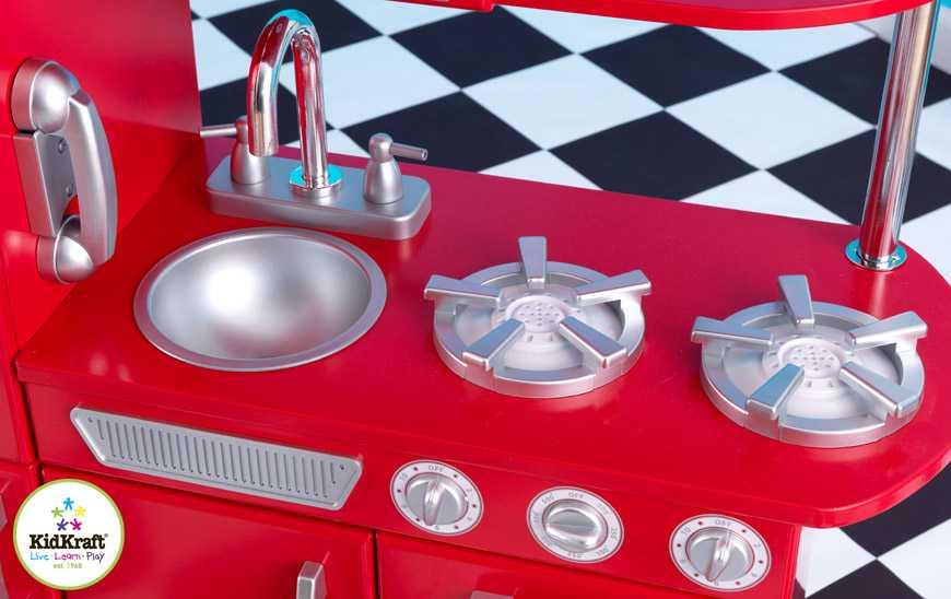 KidKraft Kuchyňka Red Vintage
