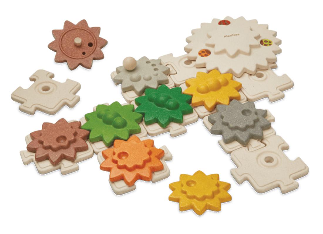 PlanToys Puzzle ozubená kolečka velká