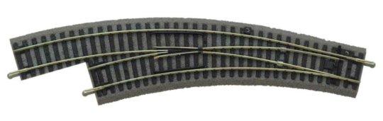 Piko Oblouková výhybka levá BWL s podložím - 55422