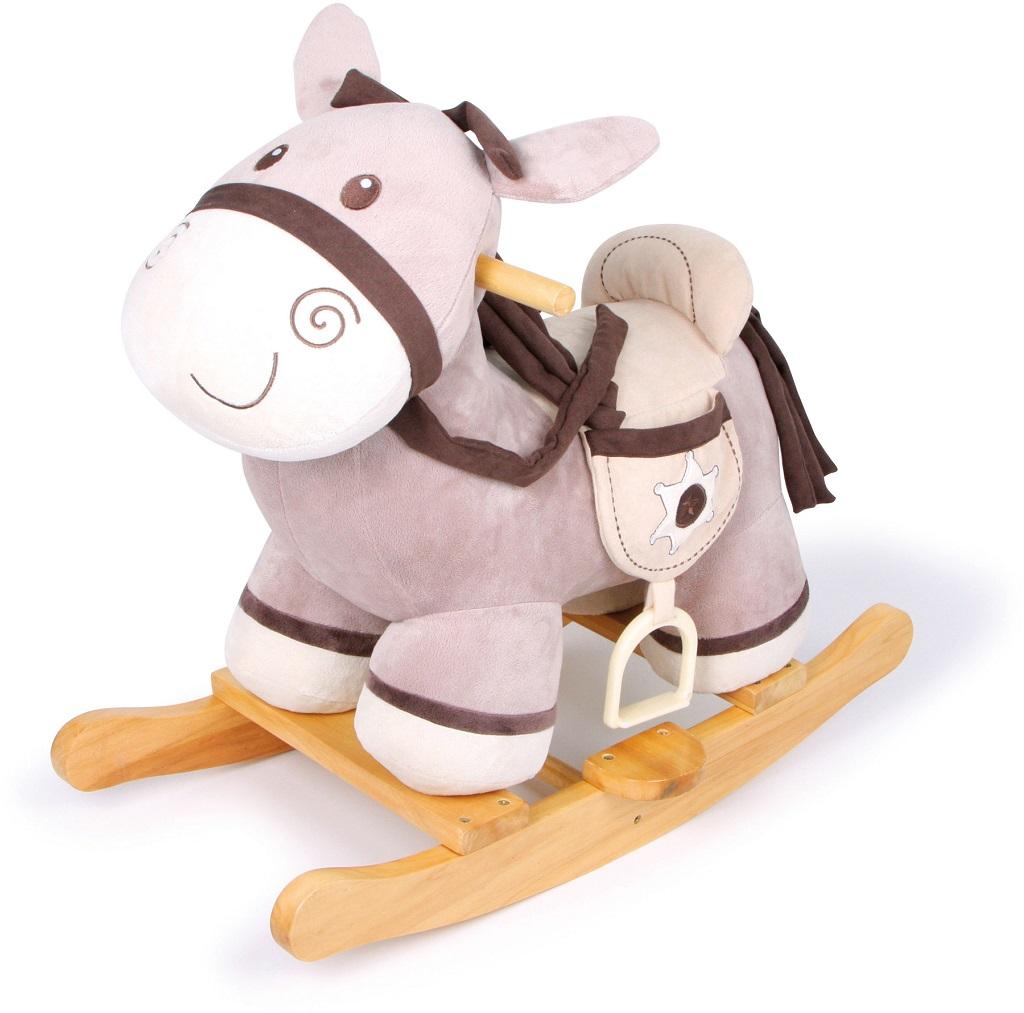 Small Foot Dřevěný houpací koník Sheriff