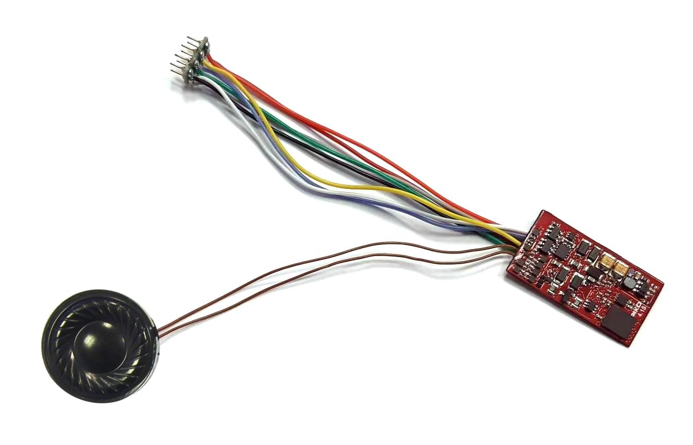 Piko SmartDecoder 4.1 vč. zvuku s rozhraním NEM 652 (8pin) pro G 1206 - 56455