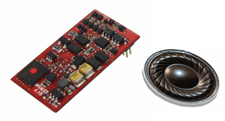 Piko SmartDecoder 4.1 vč. zvuku s rozhraním NEM 658 PluX22 (22pin) pro BR 240 - 56486