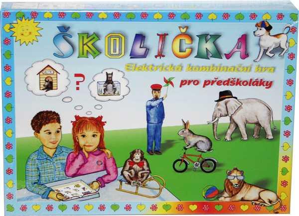 Voltík vzdělávací elektronická hračka - Školička