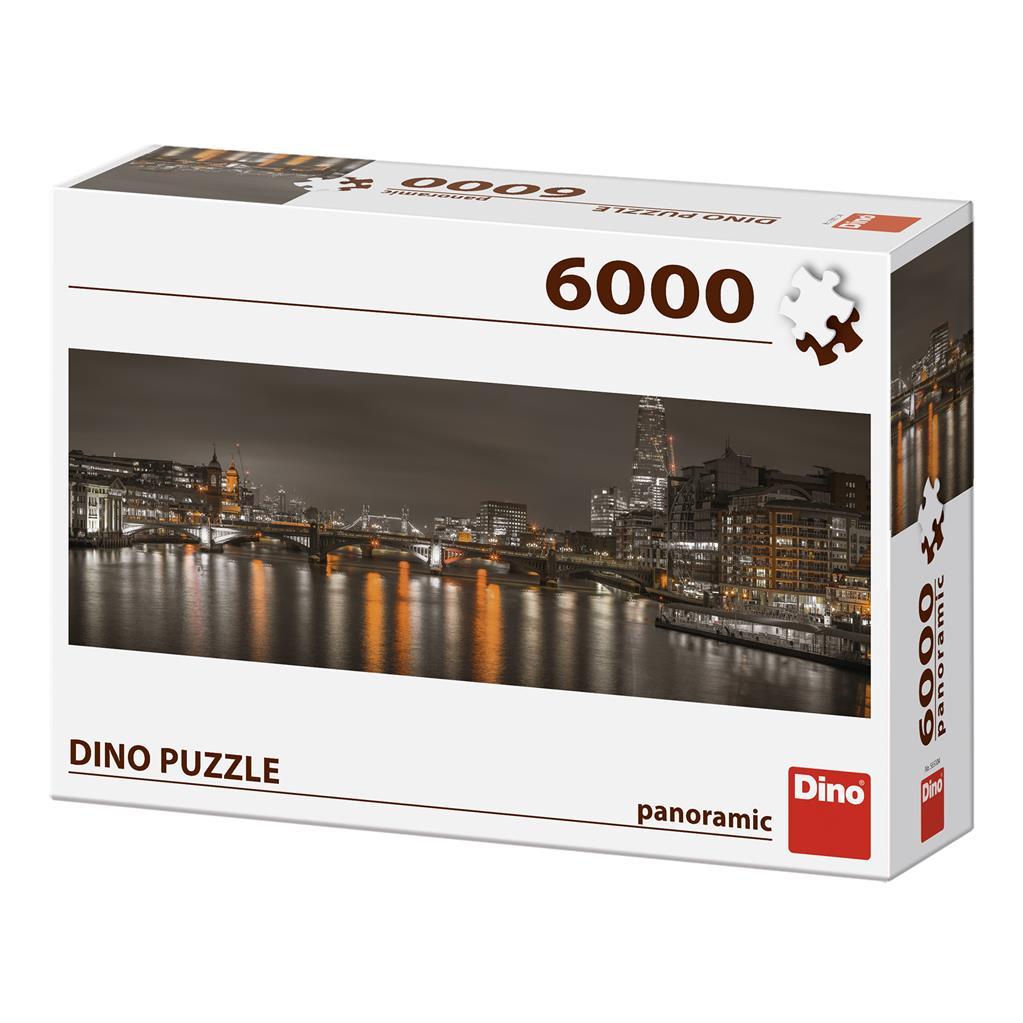Dino Puzzle Londýn v noci 6000 dílků