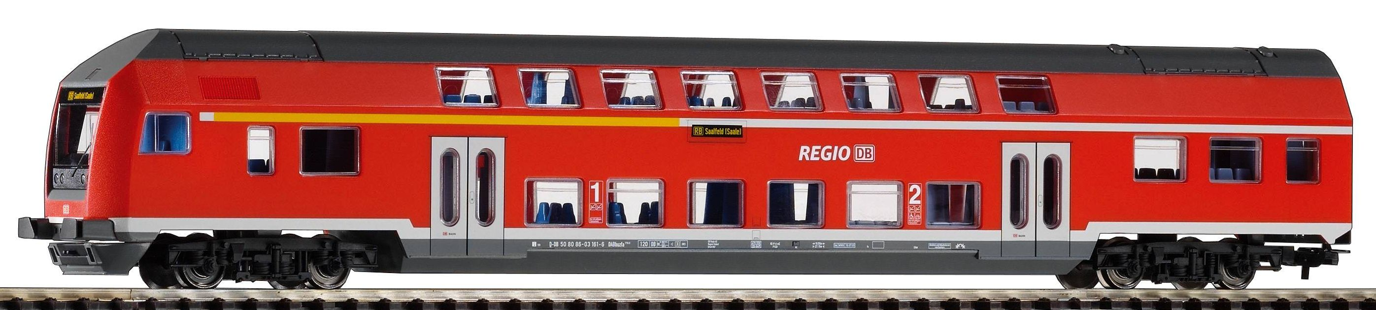 Piko Řídící dvoupodlažní vagón DABbuzf778 DB AG VI - 57621