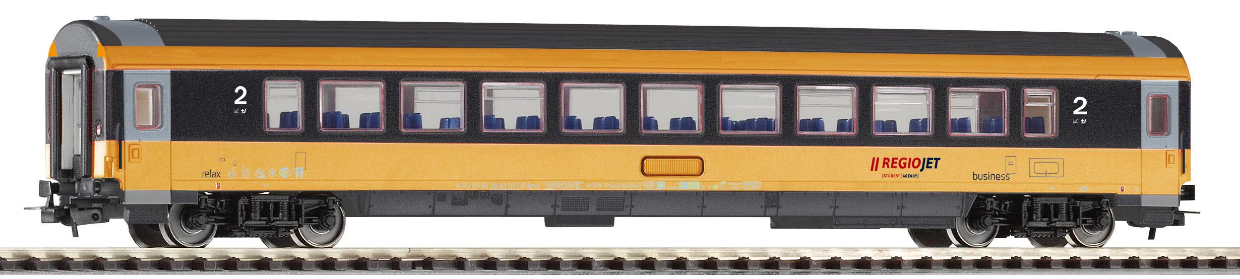Piko Osobní vagon IC 2. tř. Regiojet VI - 57647