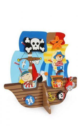 Small Foot Provlékací hra pirátská loď