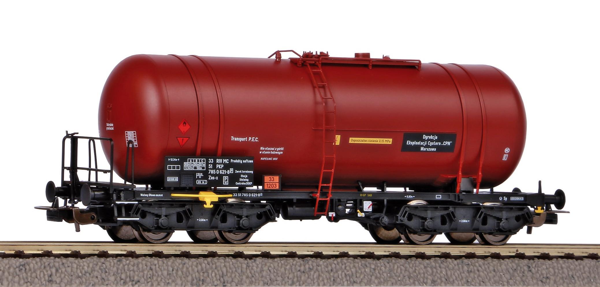Piko Cisternový vagón Zas (406R) PKP IV - 58454
