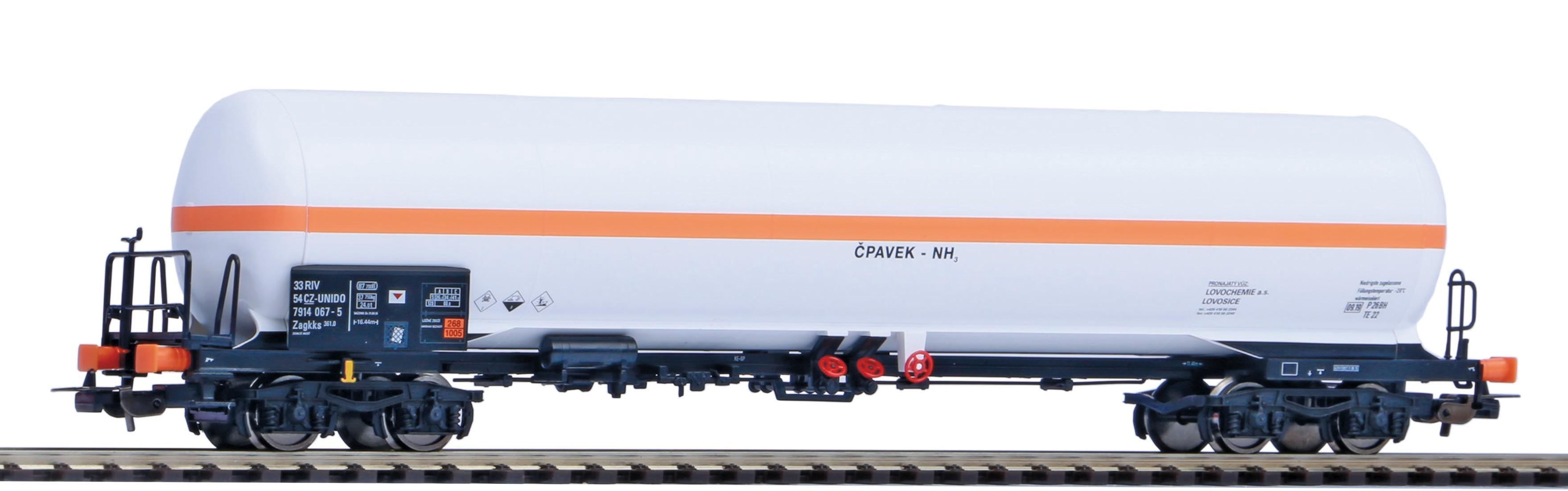 Piko Cisternový vagón Zagkks ČD VI - 58960