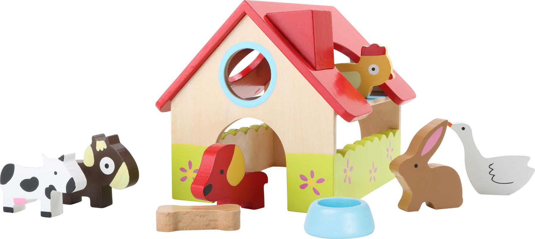 Dřevěný domeček Farma