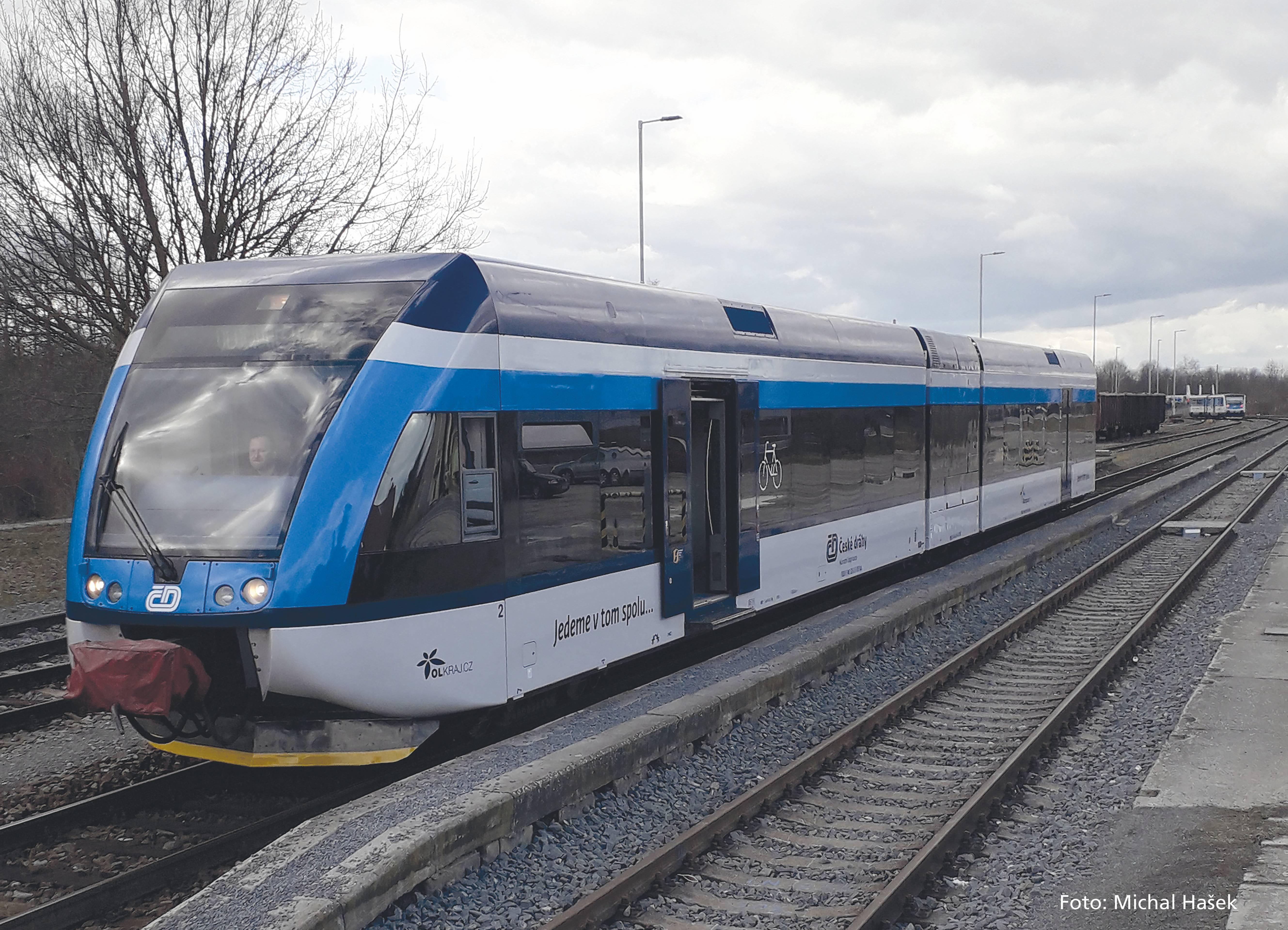 Piko Elektrický vlak GTW 2/6 ČD VI - 59134
