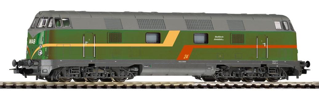 Piko Dieselová lokomotiva 24 (V 180) s 6 nápravami WAB V - 59586