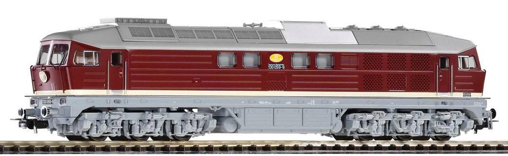 "Piko Dieselová lokomotiva BR 130 ""Ludmilla"" s odporovou brzdou DR IV - 59744"