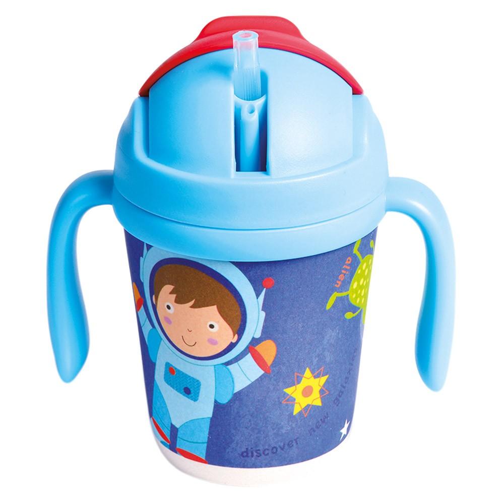 Bino Hrneček s brčkem 250 ml Astronaut