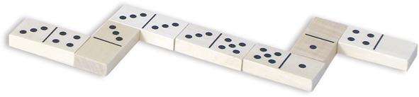 Vilac Dřevěné klasické domino