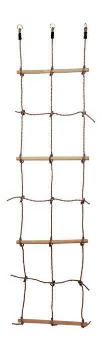 Small Foot Dřevěné venkovní hračky provazový žebřík