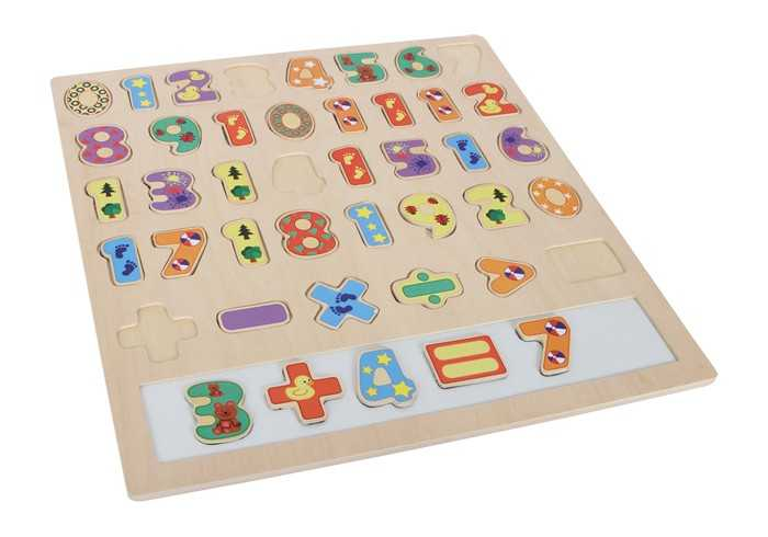 Small Foot Velké puzzle Počítání