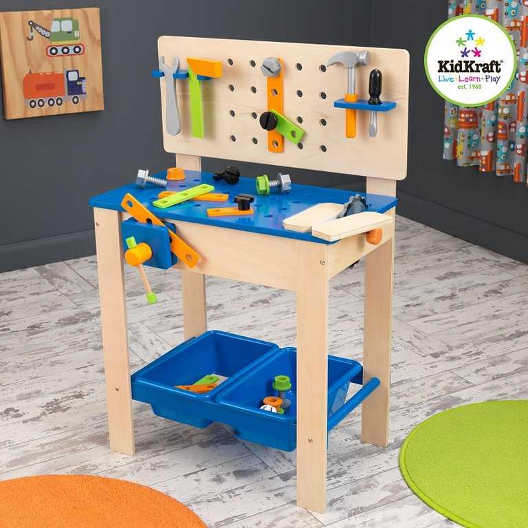 KidKraft pracovní stůl ponk s nářadím