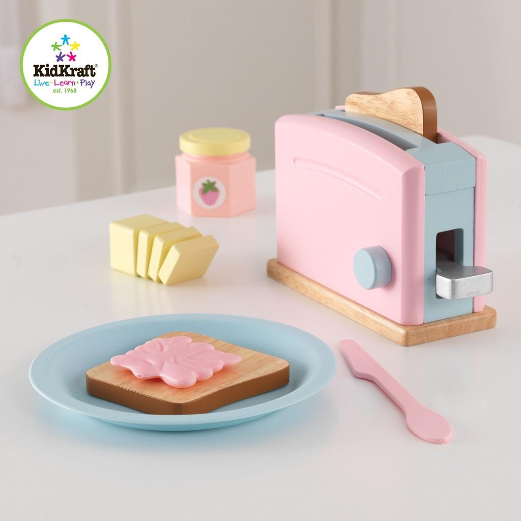 Kidkraft Espresso Toaster Set pastel