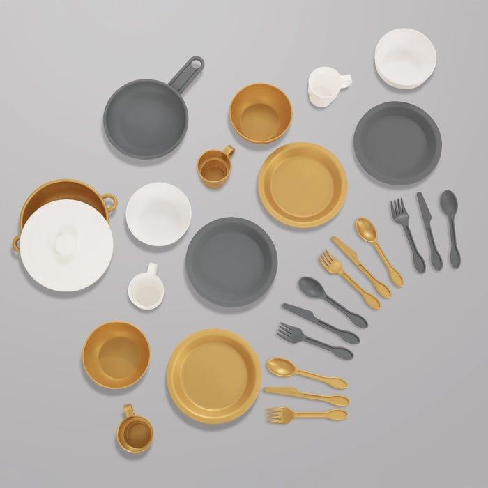 KidKraft Sada nádobí metalická 27 ks