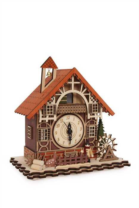 Small Foot Bytové dekorace Hodiny Hrázděný dům