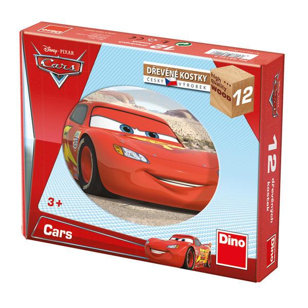 Dino Dřevěné kostky Cars ve světě