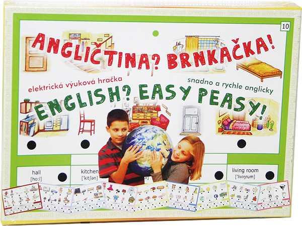Voltík vzdělávací elektronická hračka - Angličtina? Brnkačka