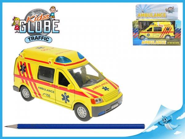 Auto Ambulance - zpětný chod se světlem a zvukem