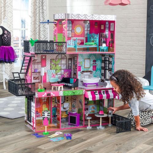 Kidkraft Domeček pro panenky Brooklyn's Loft