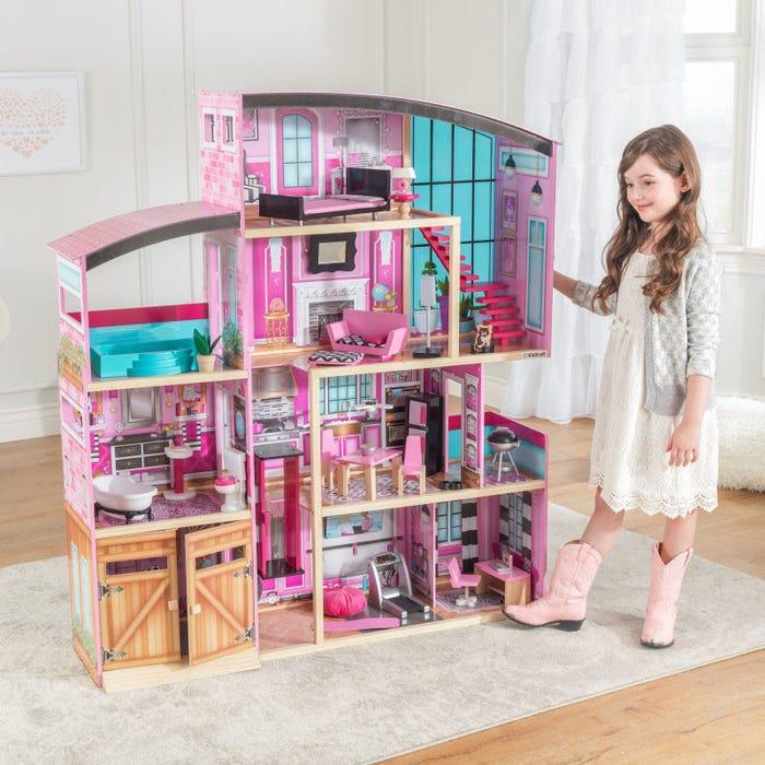 KidKraft Domeček pro panenky Shimmer Mansion