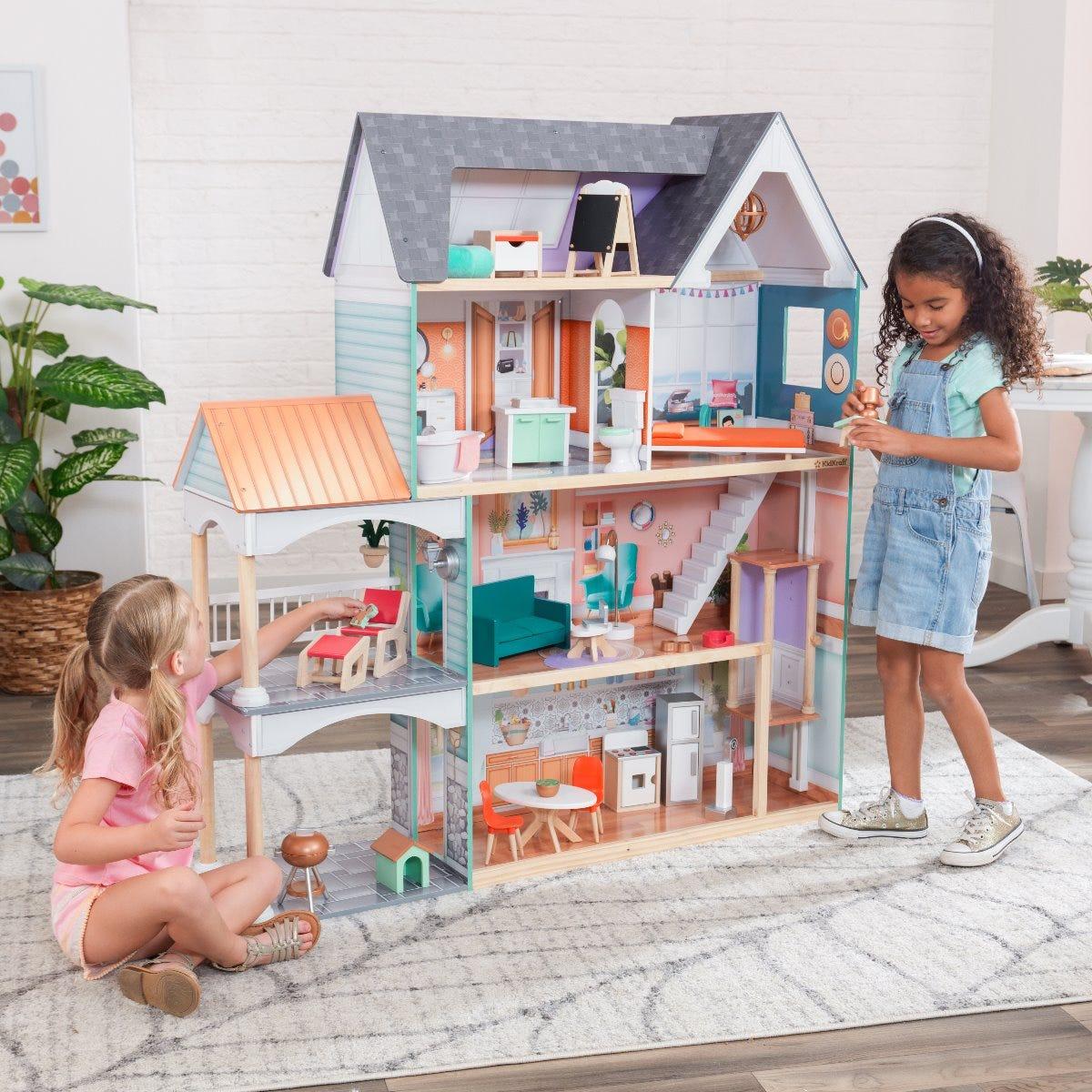 KidKraft Dřevěný domeček Dahlia Mansion