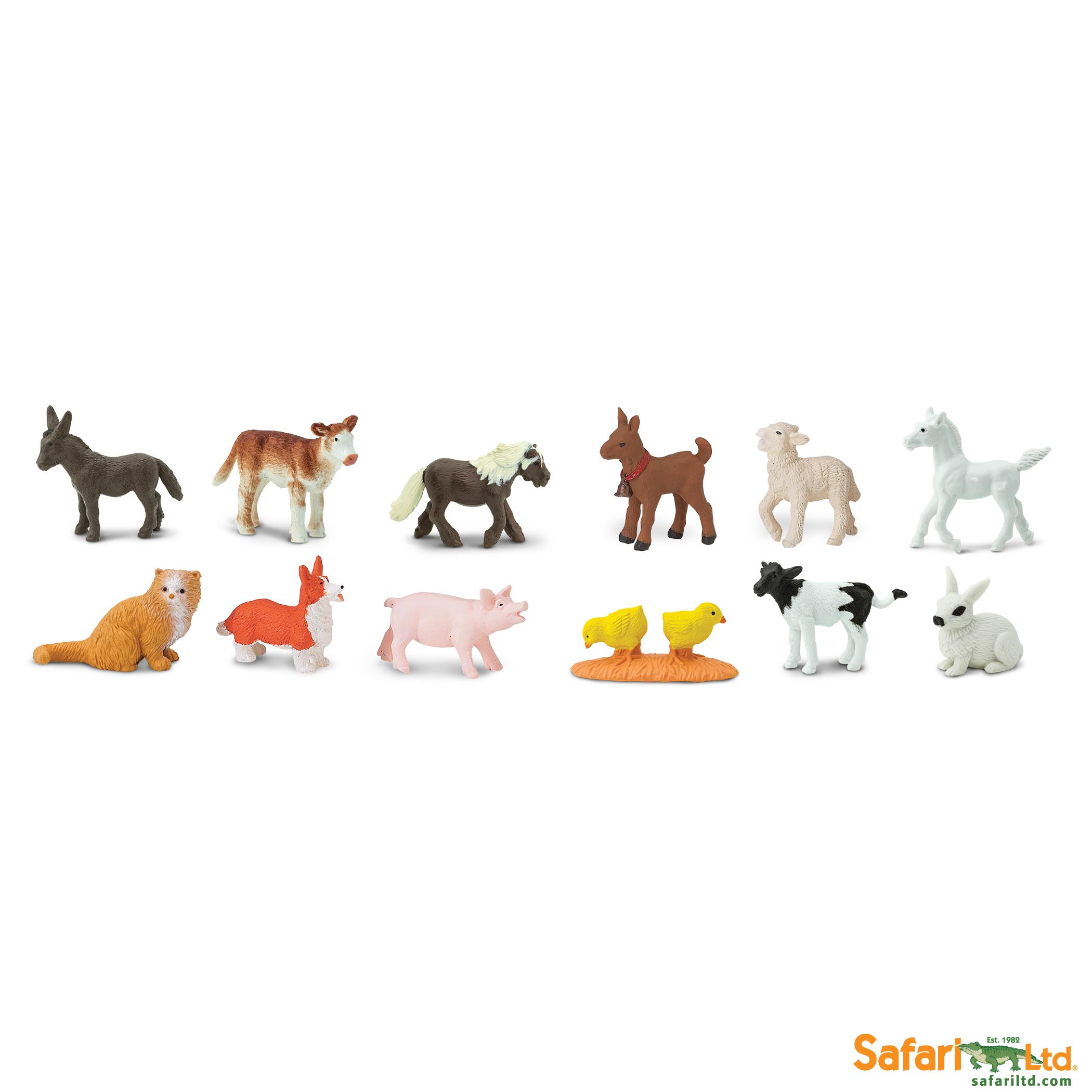 Safari Ltd - Tuba - Mláďata z Farmy