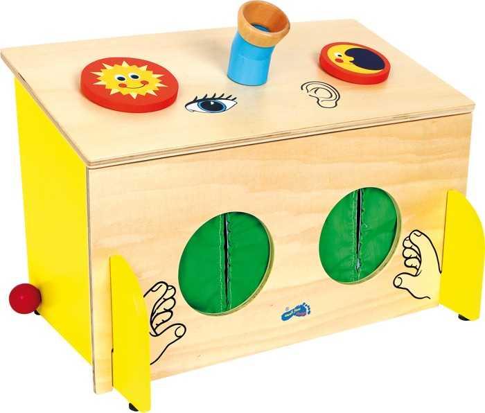 Small Foot Box: Objevovat hmatem