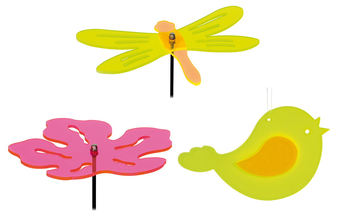 Small Foot Sada 3 ks dekorací ke květináčům