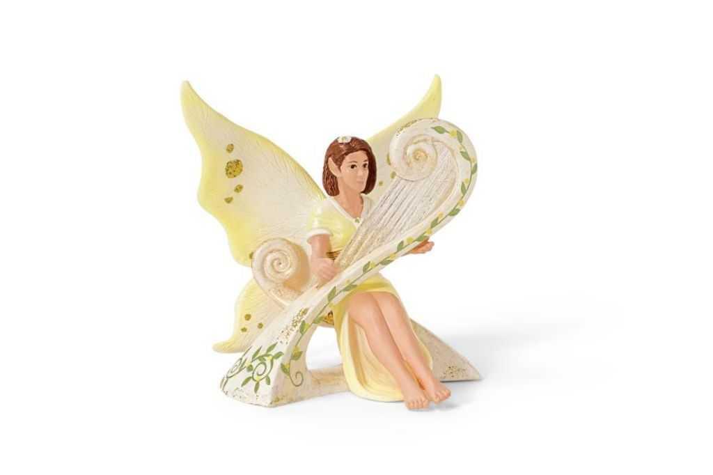 Figurka Schleich - Elfí víla hrající na harfu