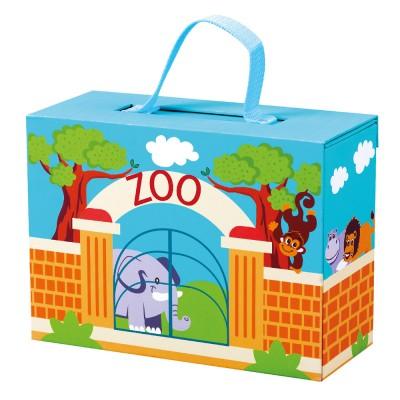 Bino Cestovní kufřík se zvířáky ZOO