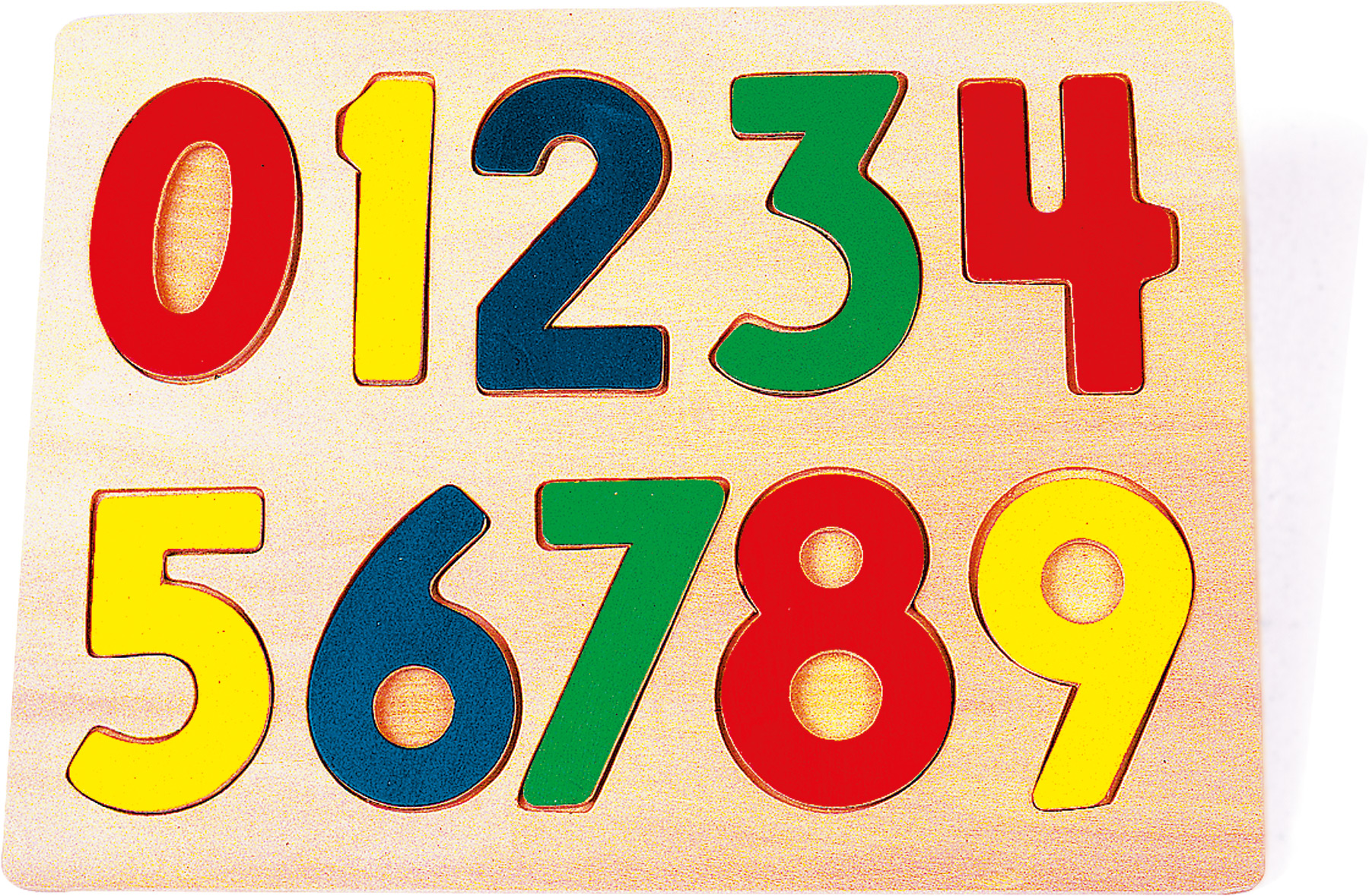 Didaktické puzzle čísla