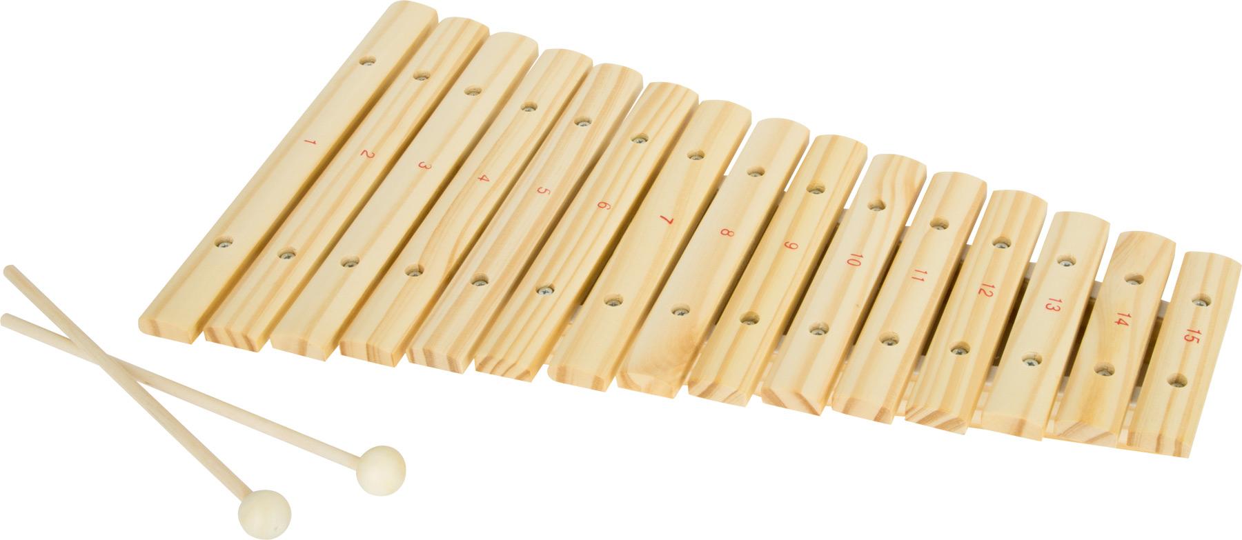 Fotografie Small Foot Dětské hudební nástroje Xylofon 15 tónů