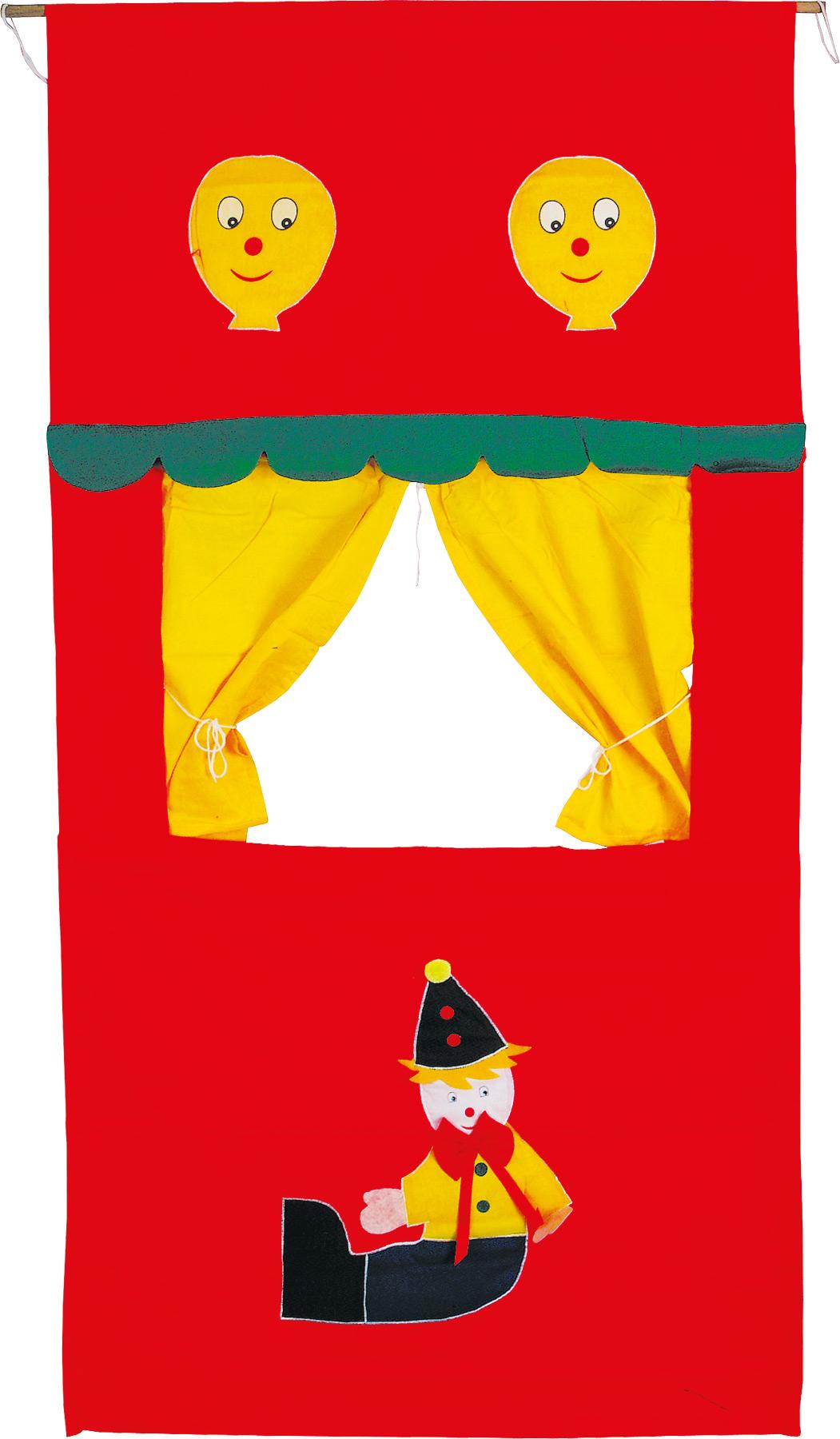 Small Foot Textilní loutkové divadlo