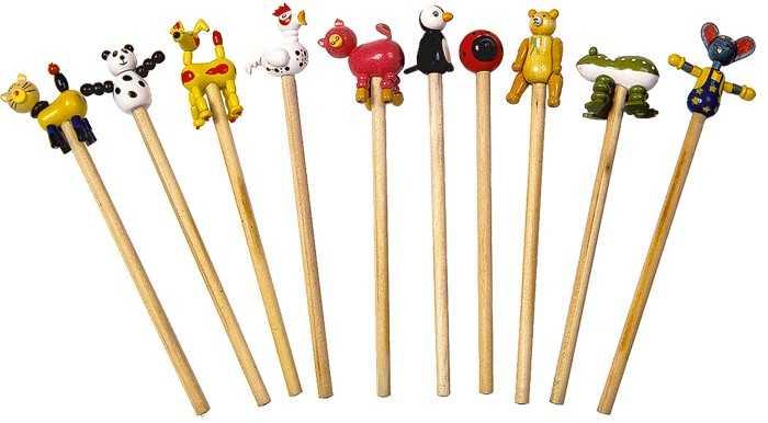 Dřevěná tužka - 1ks